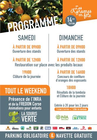 Programme 2019 des Agrumes en Fête